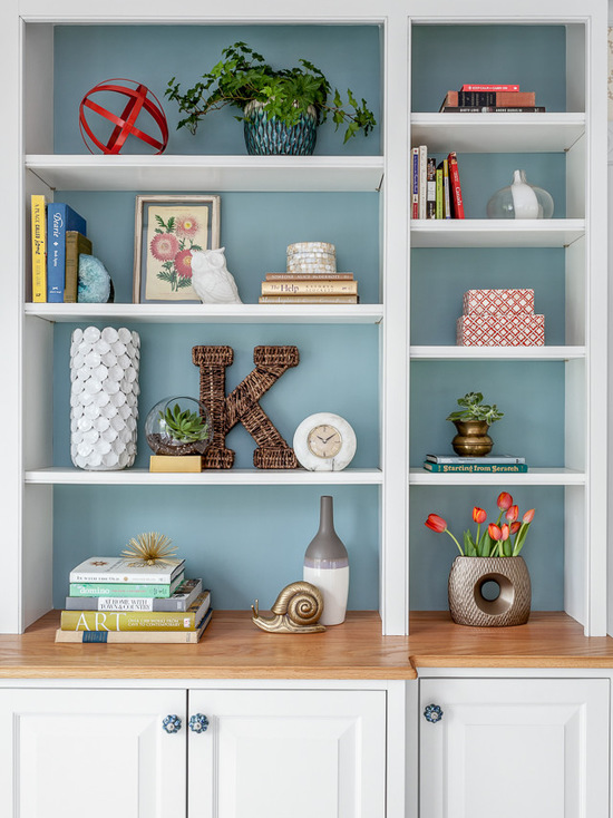 15 Unique Ideas for Bookcase Decor