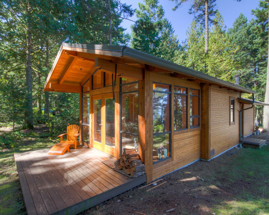 Superb 17 Lovely Small Mountain Cabin Designs Ideas