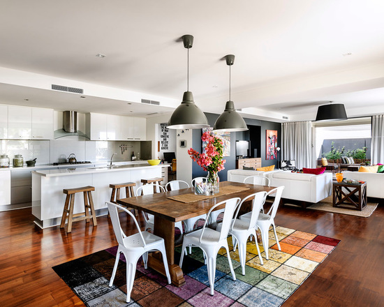 Trend for Modern Living: 17 Chic Design Ideas for Open Floor Plan