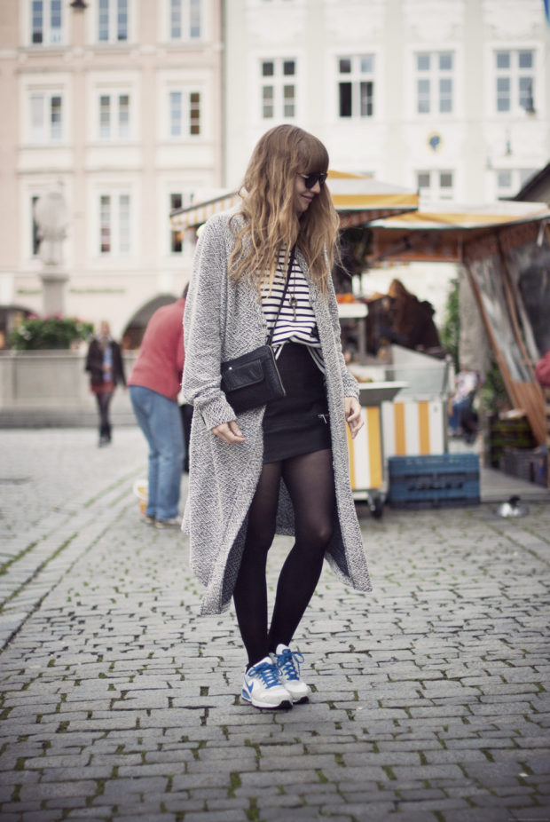 17 Cute Street Style Outfit Ideas with Cardigans (Part 1)