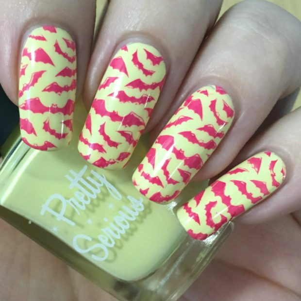 17 cool halloween nail art ideas in unusual bright and light 17 cool halloween nail art ideas in unusual bright and light colors prinsesfo Images