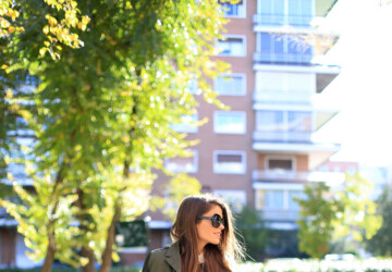 How To Wear The Military Jacket: 17 Amazing Outfit Ideas - Military Jacket fall outfit, Military Jacket, jacket outfit, jacket, How To Wear The Military Jacket, how to wear, fall street style, fall outfit ideas