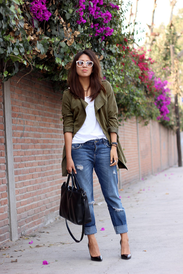 How To Wear The Military Jacket: 17 Amazing Outfit Ideas