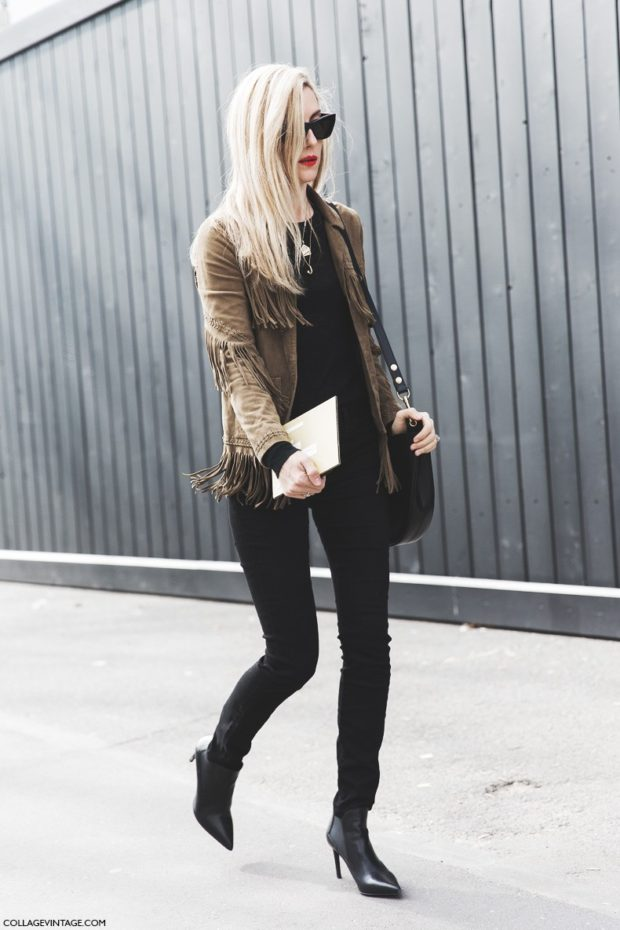How To Rock The Velvet Jacket With Style: 18 Outfit Ideas