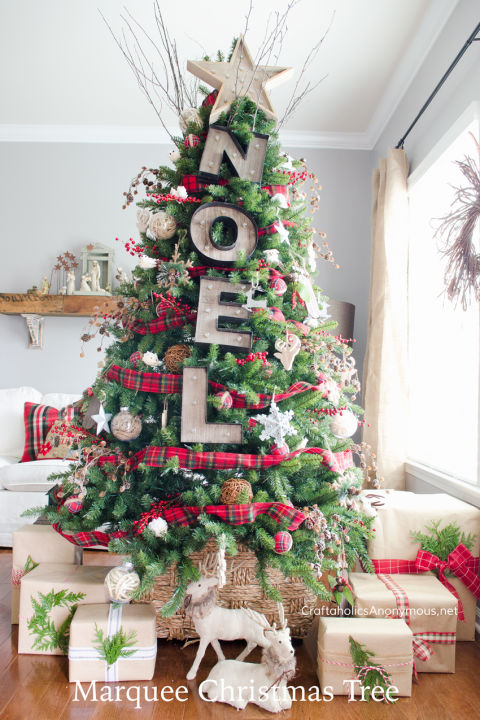 20 gorgeous christmas tree decorating ideas for an unforgettable holiday - Christmas Tree Decorating Ideas 2016