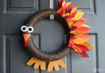16 Festive DIY Thanksgiving Wreaths Ideas - Wreaths, Thanksgiving Wreaths Ideas, DIY Wreaths Ideas, DIY Thanksgiving Wreaths Ideas, DIY Thanksgiving Wreaths, DIY Thanksgiving