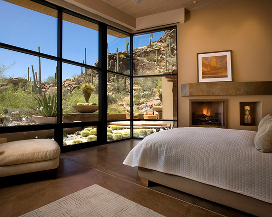 20 Bedroom Design Ideas with Floor to Ceiling Windows (Part 1)