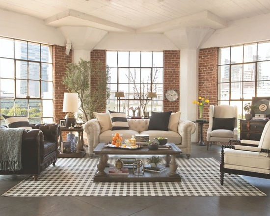 16 Cool Living Rooms Design Ideas With Brick Walls Style