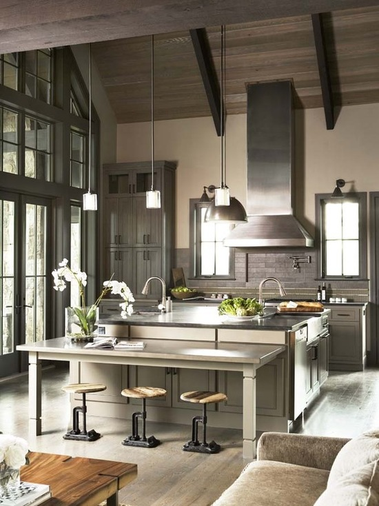 Large Kitchens Design Ideas Part - 36: 20 Amazing Large Kitchen Design Ideas