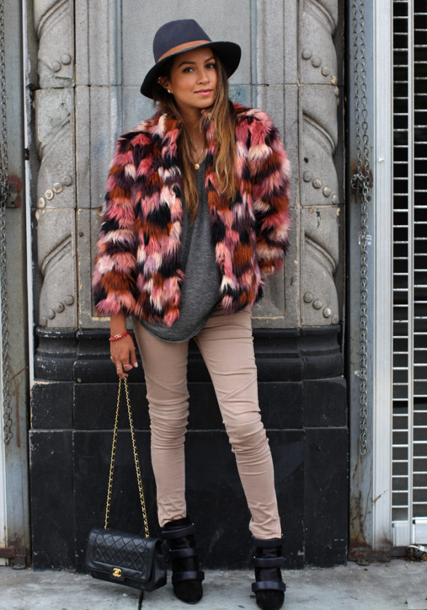 17 Stylish Fur Coat and Jacket Outfit Ideas for Cold Days (Part 2)