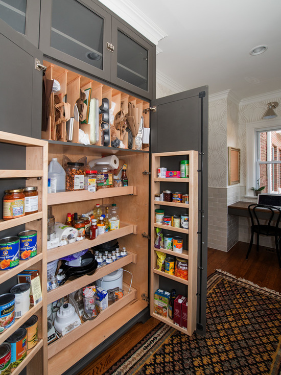 18 Well Organized Kitchen Pantry Ideas for Efficient Storage