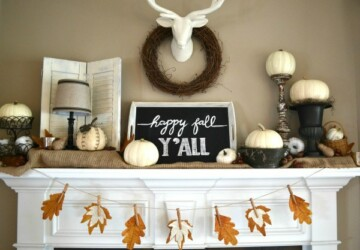 16 Festive and Easy DIY Ideas for Thanksgiving Decorations - thanksgiving decorations, Thanksgiving, diy thanksgiving decorations, DIY Thanksgiving, DIY Ideas for Thanksgiving Decorations, DIY Ideas for Thanksgiving