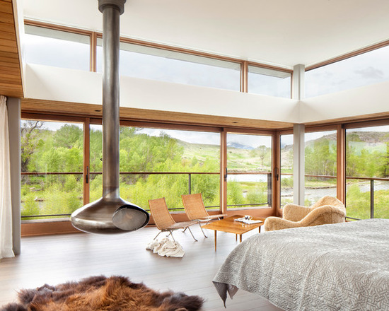 20 Bedroom Design Ideas with Floor to Ceiling Windows (Part 2)
