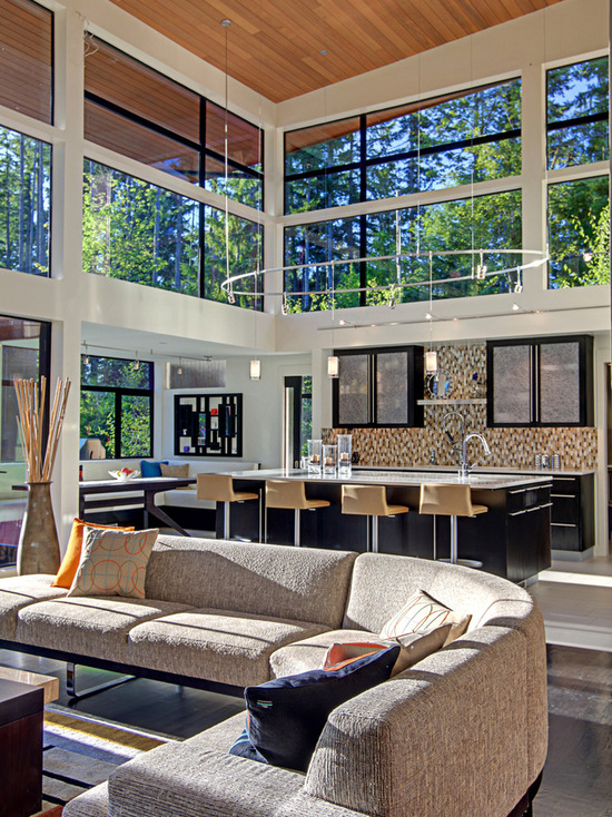 17 Stunning Design Ideas for Interiors with Tall Windows