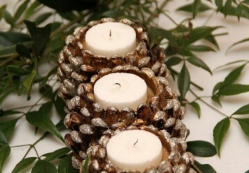 15 Amazing DIY Pinecone Decorations Perfect for This Season - Pinecone Decorations, pinecone, DIY Pinecone Decorations, diy home decor, DIY Decorating Ideas, diy