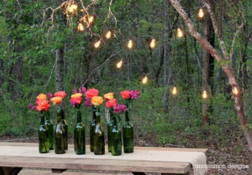 DIY Ideas: 15 Creative Ways to Repurpose Empty Wine Bottles - Wine Bottles, Upcycle and Repurpose Wine Bottles, Repurpose Empty Wine Bottles, diy Wine Bottles