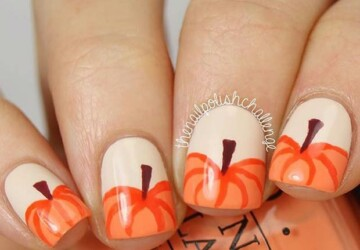 15 Amazing Thanksgiving Nail Art Ideas - Thanksgiving Nails, Thanksgiving Nail Art Ideas, nail art ideas, fall nail art ideas
