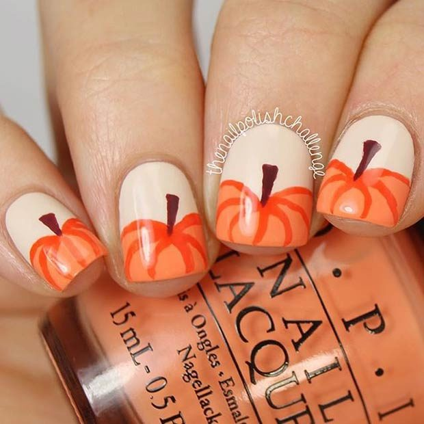 15 Amazing Thanksgiving Nail Art Ideas Style Motivation