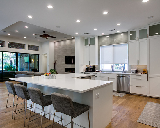 enchanting large kitchen idea | 20 Amazing Large Kitchen Design Ideas - Style Motivation
