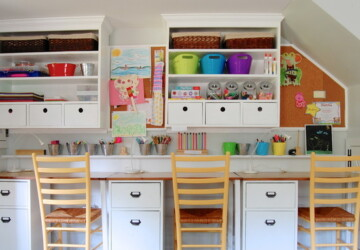 16 Best Ideas How to Organize Kids Desks and Bookshelves - Organize Kids Desks and Bookshelves, Organize Kids Desks, Kids Desks, Desks and Bookshelves, bookshelves