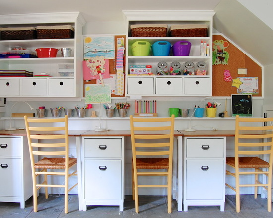 16 Best Ideas How to Organize Kids Desks and Bookshelves