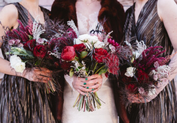 18 Whimsical Bouquets Ideas For Winter Wedding - winter wedding bouquets, Whimsical Bouquets, Bridal Bouquets, Bouquets