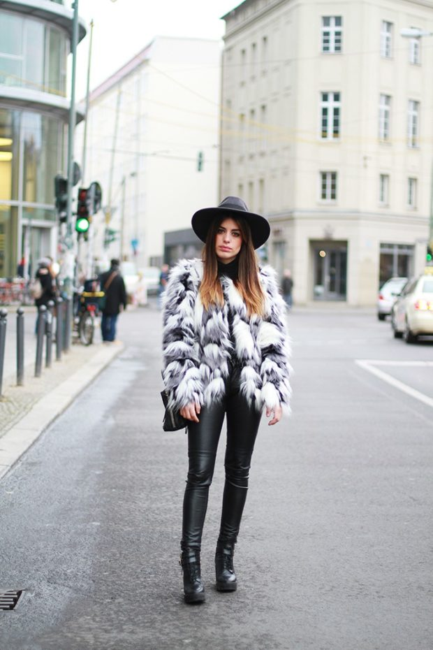 17 Stylish Fur Coat and Jacket Outfit Ideas for Cold Days (Part 1)
