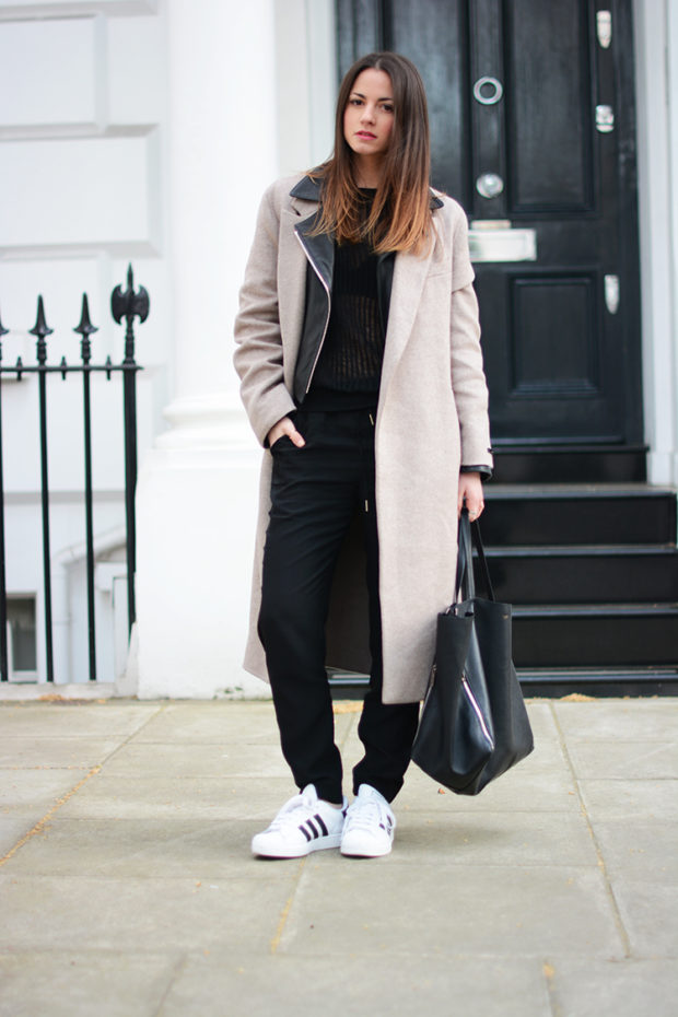 17 Stylish Sneakers Outfit Ideas for Cold Days