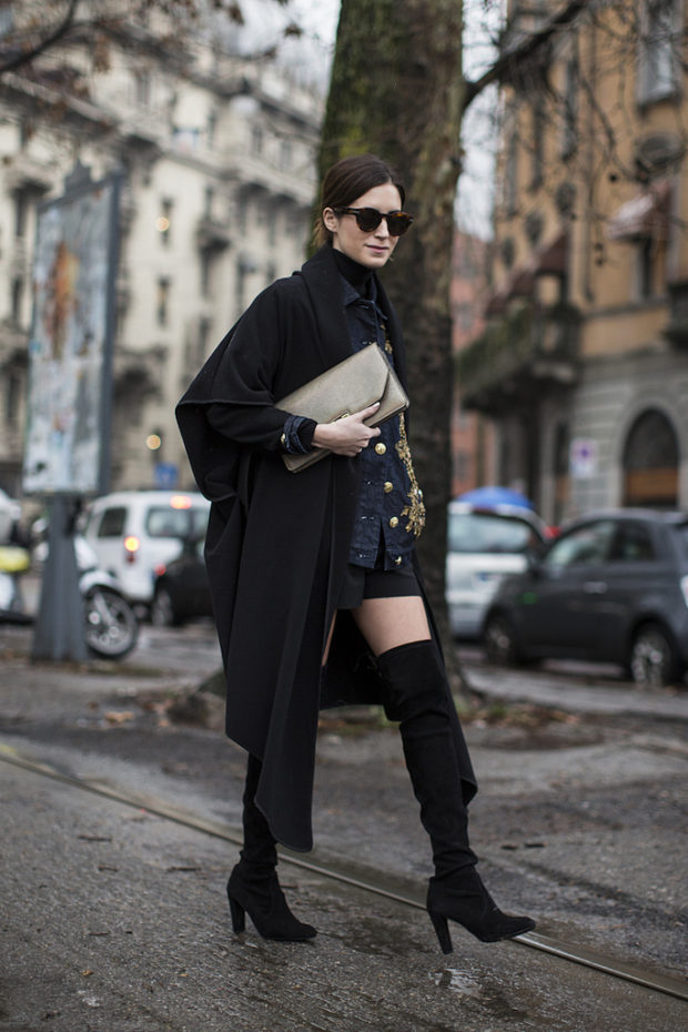 Over The Knee Boots: 18 Ideas How to Style Them This Season (Part 2)