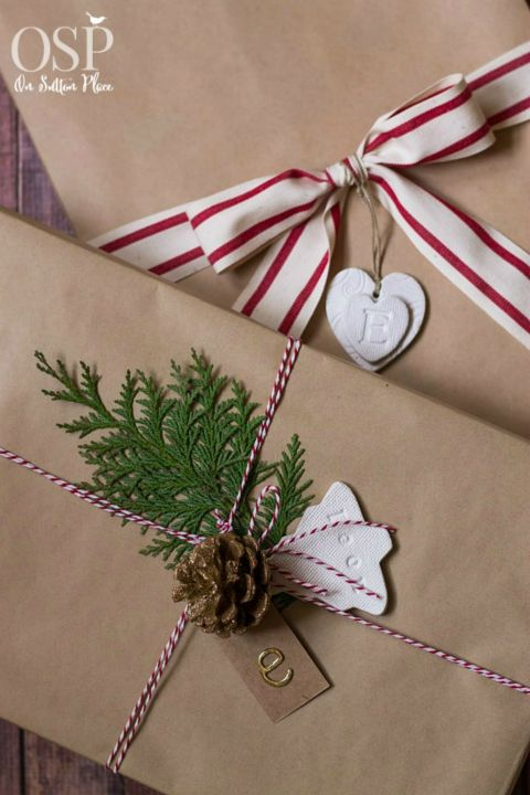 16 Unique DIY Christmas Gift Wrapping Ideas
