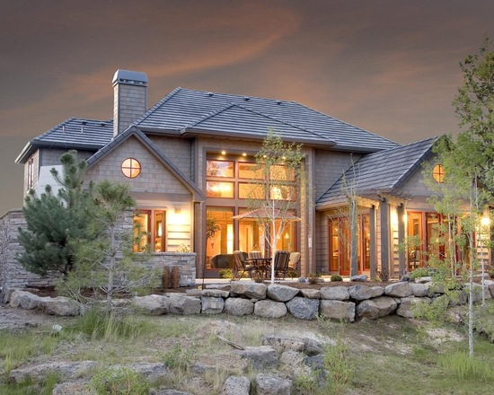 Lodge Style 20 Stunning Mountain House Design Ideas Style