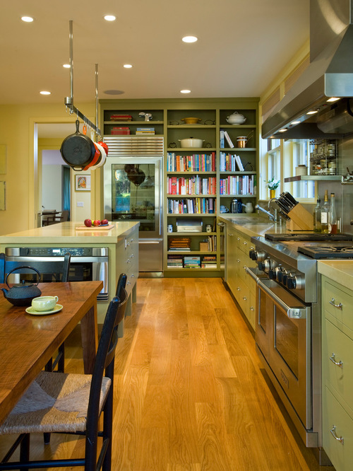 18 Unique Kitchen Ideas for Displaying and Organizing Cookbooks