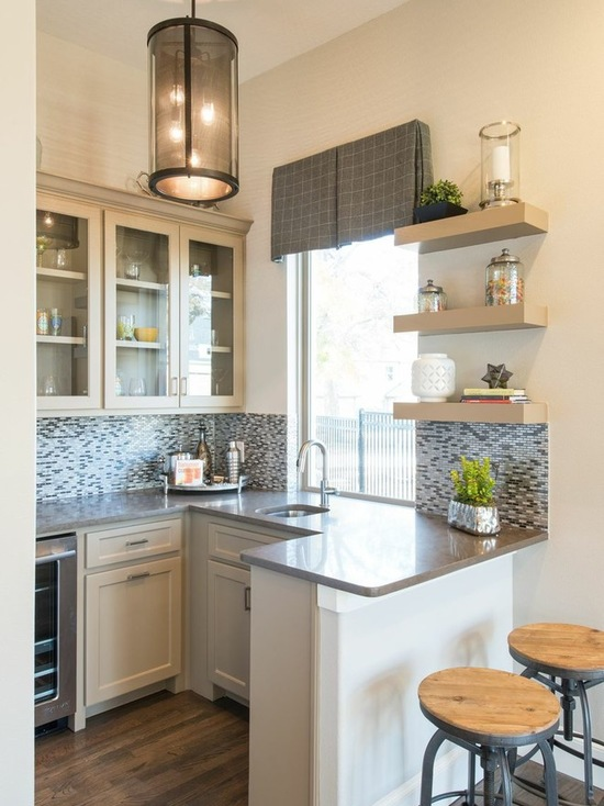 17 Functional Small Kitchen Peninsula Design Ideas Style