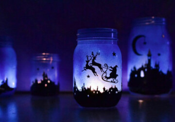 DIY Ideas: 17 Magical Ways to Use Mason Jars This Christmas - diy mason jar, diy christmas decor projects, diy christmas decor, Diy Christmas