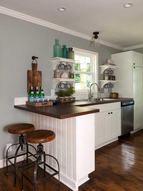 17 Functional Small Kitchen Peninsula Design Ideas Style Motivation
