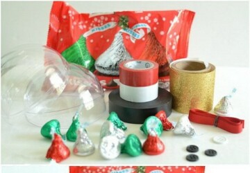 DIY Christmas Tree Ornaments: 17 Great Tutorials and Ideas (Part 1) - diy ornaments, Diy Christmas ornaments, diy Christmas decorations, diy christmas decor projects, Christmas Tree Decorating Ideas, Christmas tree