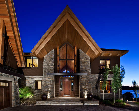 Lodge Style: 20 Stunning Mountain House Design Ideas