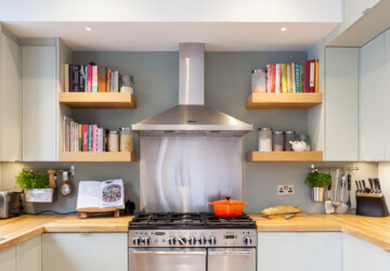 18 Unique Kitchen Ideas for Displaying and Organizing Cookbooks - Organizing Cookbooks, Kitchen Ideas for Displaying Cookbooks, Kitchen Ideas for Displaying and Organizing Cookbooks, kitchen ideas, DisplayingCookbooks, decor, cookbook organization