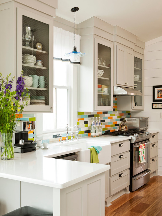 17 Functional Small Kitchen Peninsula Design Ideas - Style ...