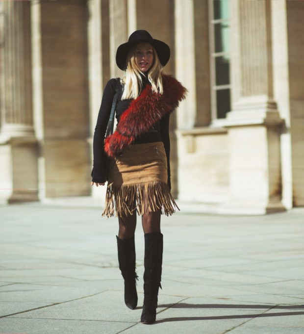 Statement Hats: 17 Winter Outfit Ideas That Are Anything But Boring (Part 2)