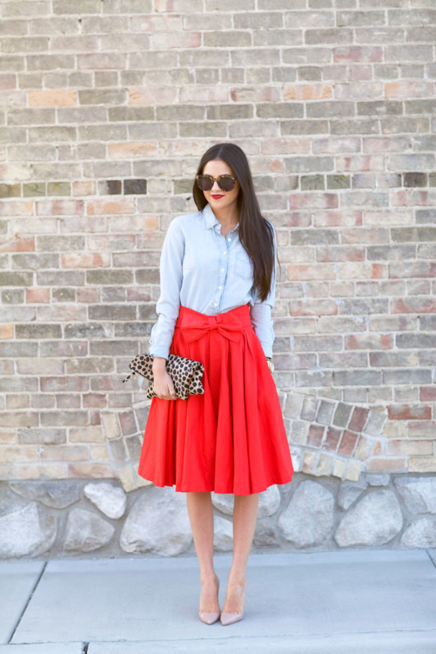 16 New Ways to Wear Your Midi Skirt This Winter (Part 1)