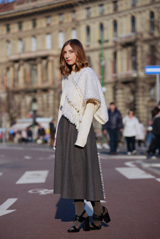 16 New Ways to Wear Your Midi Skirt This Winter (Part 2)