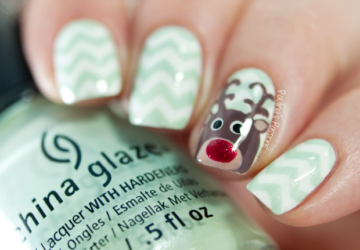 15 Cute Charismas Nail Art Ideas Inspired by Holiday Movies - Nail Art, Christmas nails, Christmas nail design