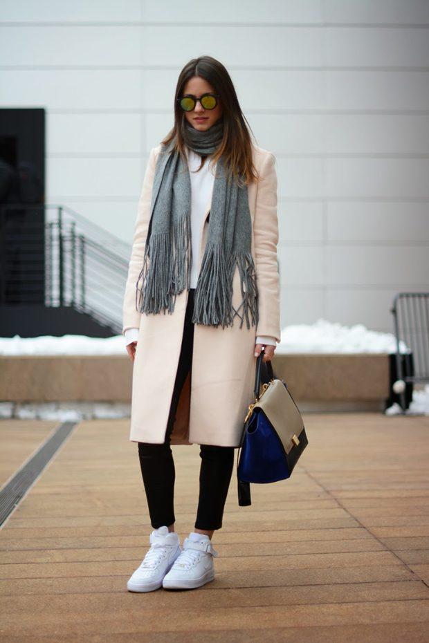Warm and Cozy Scarf for Cold Winter Days: 18 Lovely Outfit Ideas (Part 2)