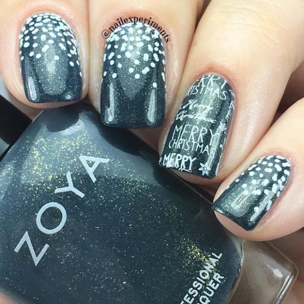 17 Stunning Winter Nail Art Ideas