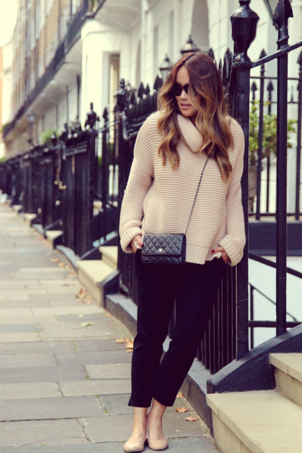 Winter Street Style: 18 Warm and Casual Sweater Outfit Ideas