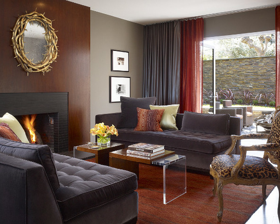 16 Great Living Room Design and Decor Ideas with Velvet Furniture