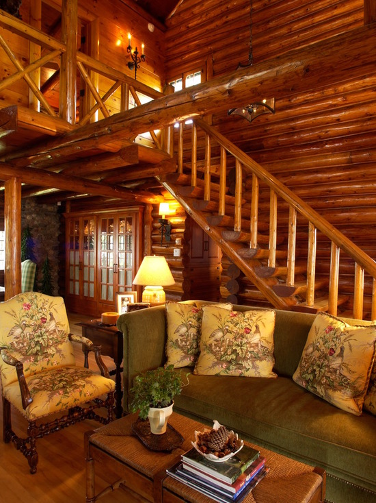 Home Decorating Small Spaces: 18 Cozy And Rustic Cabin Living Room Design Ideas