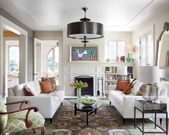 16 Gorgeous Living Room Design Ideas with Victorian Style Details
