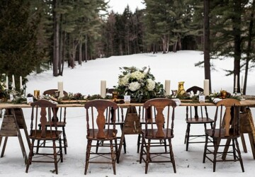 Winter Fairytale: 18 Romantic Wedding Decor Ideas - winter wedding inspiration, winter wedding decoration, winter wedding, Romantic Winter Weddings